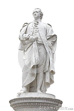 Johann Wolfgang von Goethe statue