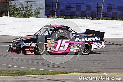 Johanna Long NASCAR Truck Series Qualifying ORP 15 Editorial Stock Photo