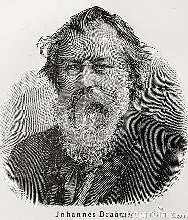 Free Johannes Brahms Royalty Free Stock Photography - 20464927