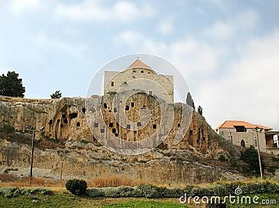 Johannes-Kirche von Amioun, der Libanon