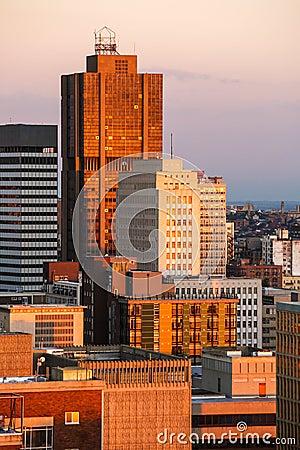 Johannesburg sky