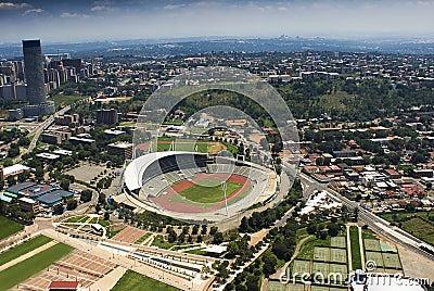 Johannesburg Stadium - Aerial View