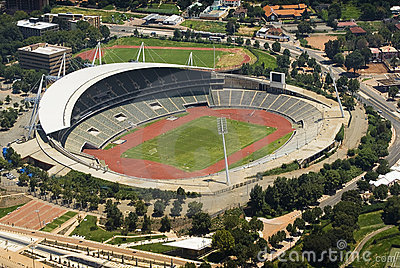 Johannesburg Stadium - Birds Eye View