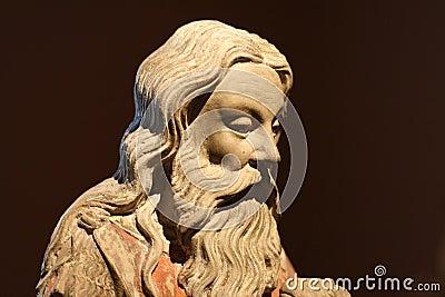 John The Baptist / Statue / Head