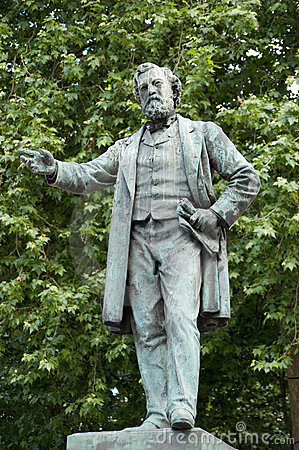 John Batchelor statue