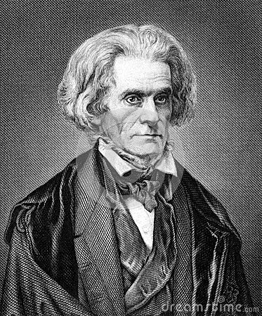 John Caldwell Calhoun Editorial Photo