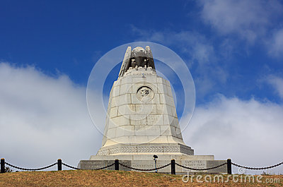 John D. Sloat Monument in Monterey, California. Editorial Photography