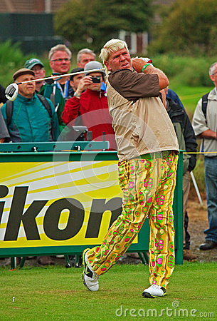 John Daly Editorial Stock Photo