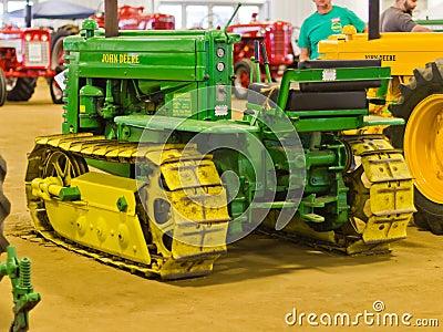 John Deere Crawler Tractor Editorial Image