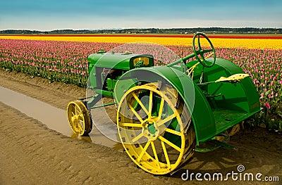 John Deere Tractor Editorial Stock Image