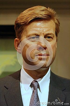 <b>John- Fitzgerald</b> KennedyWachsfigur Redaktionelles Stockbild - john-fitzgerald-kennedywachsfigur-28476784