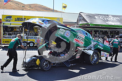John Force Funny car Editorial Image