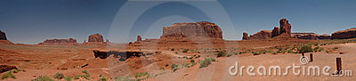 John Ford Point Monument Valley Panorama