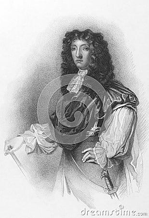 John Graham, 1st Viscount of Dundee Editorial Photography