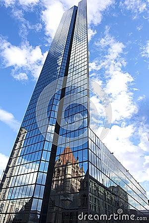 Free John Hancock Tower Skyscraper In Boston Royalty Free Stock Photos - 55483628