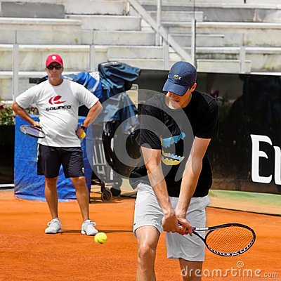 John Isner - Internazionali BNL d Italia Editorial Photography