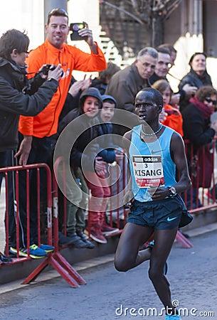 John Kisang, Mitja Marató Granollers Editorial Image