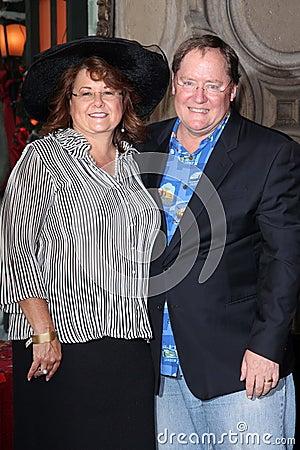 John Lasseter Editorial Stock Photo