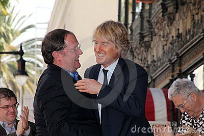 John Lasseter, Owen Wilson Editorial Photography