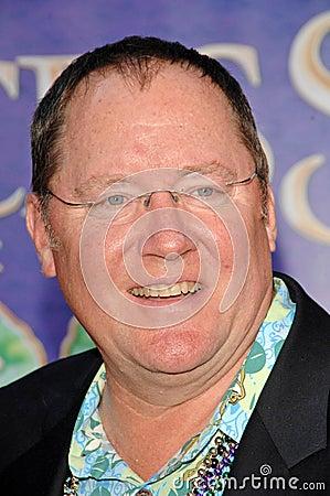 John Lasseter, Walt Disney Redactionele Afbeelding