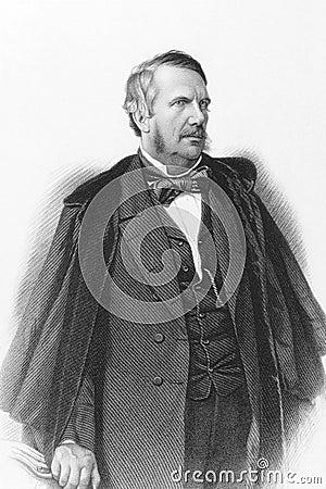 John Lawrence, 1st Baron Lawrence Editorial Stock Photo
