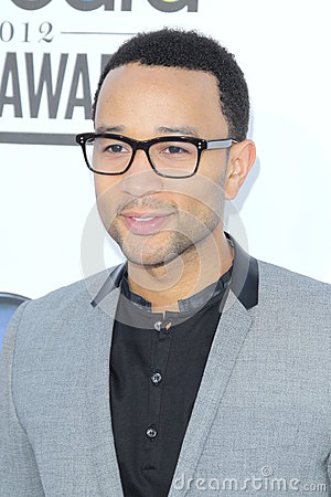 John Legend arrives at the 2012 Billboard Awards Editorial Stock Image