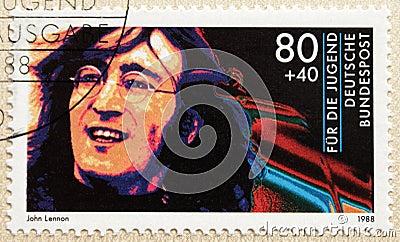 John Lennon Editorial Image