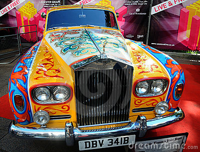 John Lennon s Rolls Royce - Phantom V Editorial Stock Photo