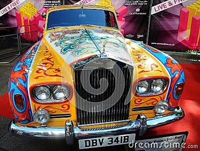 Editorial Image: John Lennon's Rolls Royce - Phantom V