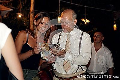 John Malkovich in Odessa Editorial Image