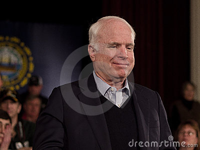 John McCain Editorial Photography