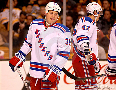 John Mitchell New York Rangers Editorial Stock Photo