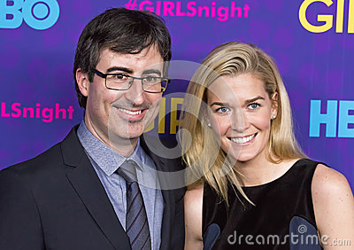 John Oliver and Kate Morley Editorial Image