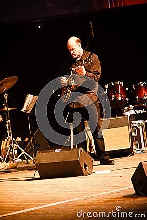 John Scofield Quartet, ZaJazz Festival 2010 Editorial Image