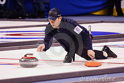 John Shuster - USA Olympic Curling Athlete Editorial Photography