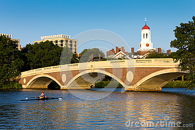 John W Weeks Footbridge Editorial Stock Photo
