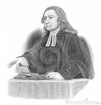 John Wesley Editorial Stock Photo