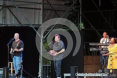 Johnny Clegg Editorial Photo