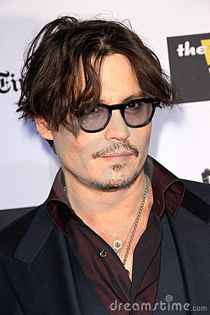 Johnny Depp Editorial Stock Photo