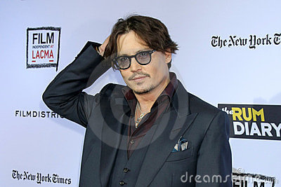 Johnny Depp Editorial Image