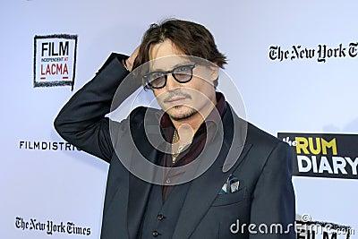 Johnny Depp Editorial Image
