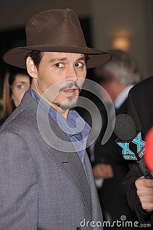 Johnny Depp Editorial Photo