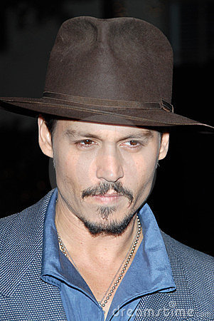Johnny Depp Editorial Photo