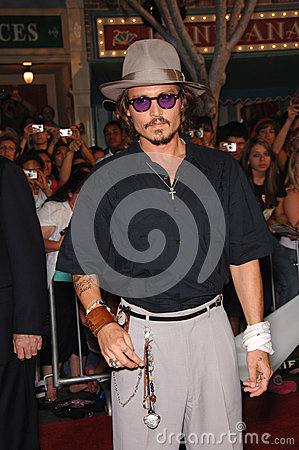 Johnny Depp Editorial Stock Image