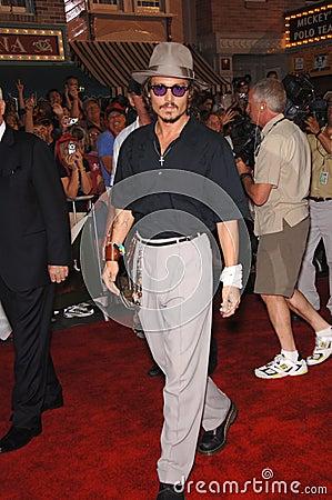 Johnny Depp Editorial Photography