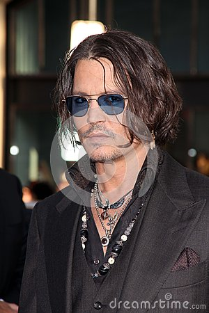 Johnny Depp,The Darkness Editorial Image