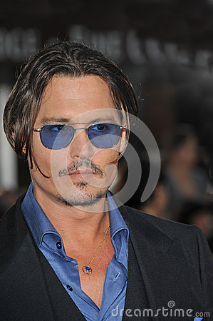 Johnny Depp,Public Enemy Editorial Stock Image