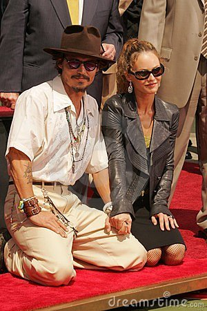 Johnny Depp, Vanessa Paradis Editorial Photography