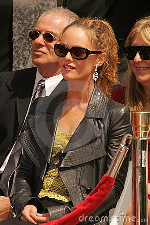 Johnny Depp, Vanessa Paradis Editorial Stock Photo