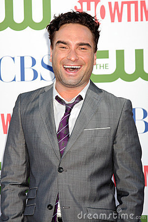 Johnny Galecki Editorial Stock Photo